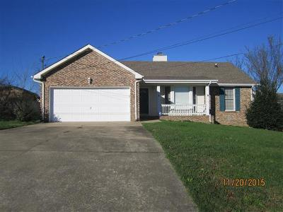 Christian County, Ky, Todd County, Ky, Montgomery County Rental For Rent: 305 Brook Mead Drive