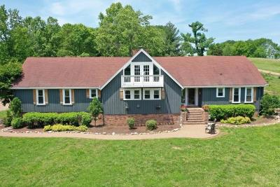 Hendersonville Single Family Home For Sale: 1633 Saundersville Rd