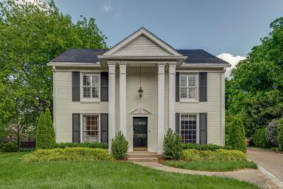 Nashville Single Family Home Under Contract - Not Showing: 208 Old Williamsburg Ct