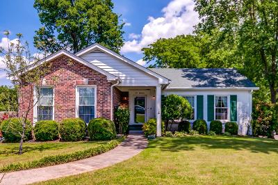 Nashville Single Family Home For Sale: 618 Westcrest Dr