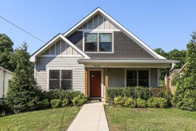 Nashville Single Family Home For Sale: 1406 Norvel Ave