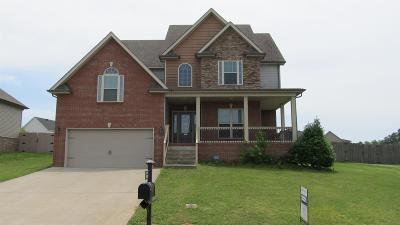 Clarksville Single Family Home For Sale: 1726 Cabana Dr