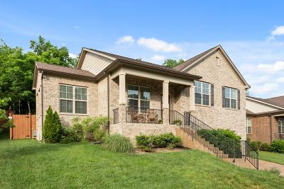 Nashville Single Family Home For Sale: 1752 Haleys Hope Ct