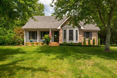 White House Single Family Home Active Under Contract: 1121 Stillhouse Rd