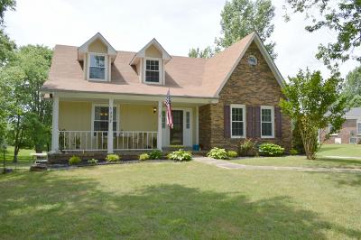Clarksville Single Family Home For Sale: 1002 Rossview Rd
