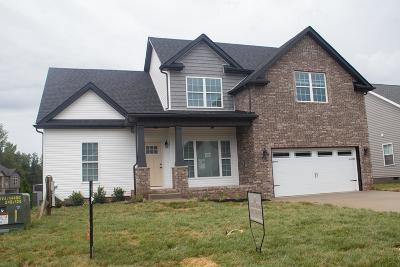 Clarksville Single Family Home Under Contract - Showing: 12 Reserve At Sango Mills