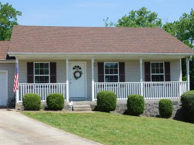 Clarksville Single Family Home For Sale: 2779 Applemill Ct