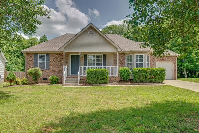 Mount Juliet Single Family Home Under Contract - Not Showing: 520 Summit Way