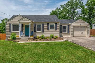 Nashville Single Family Home For Sale: 2620 Woodyhill Dr
