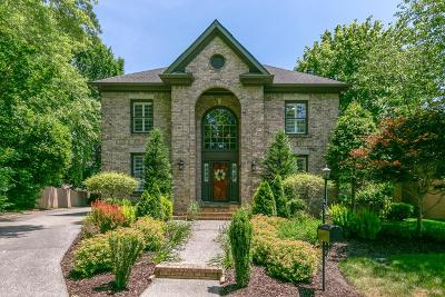 Franklin Single Family Home For Sale: 1332 Charing Cross Cir
