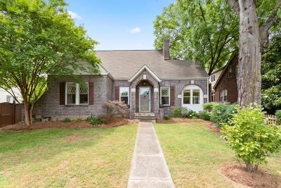 Nashville Single Family Home Active Under Contract: 2207 Natchez Trace