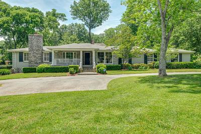 Nashville Single Family Home Active Under Contract: 129 Cheek Rd