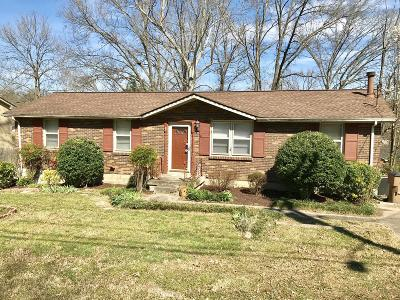 Antioch Single Family Home For Sale: 58 Tusculum Rd