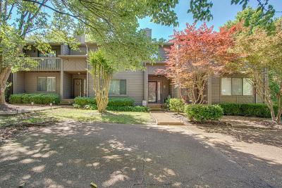 Old Hickory Condo/Townhouse For Sale: 4546 S Trace Blvd