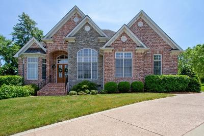 Brentwood TN Single Family Home Under Contract - Showing: $689,000