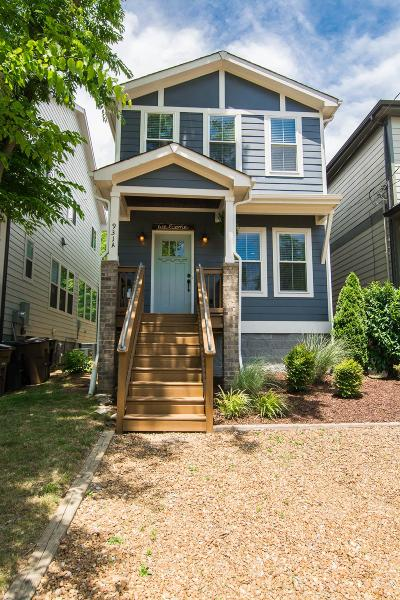 Nashville Single Family Home Under Contract - Showing: 931 A Thomas Ave