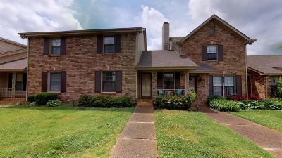 Clarksville Condo/Townhouse For Sale: 1818 Memorial Dr #7