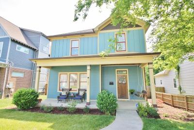 Nashville Single Family Home Active Under Contract: 1127 N 2nd St