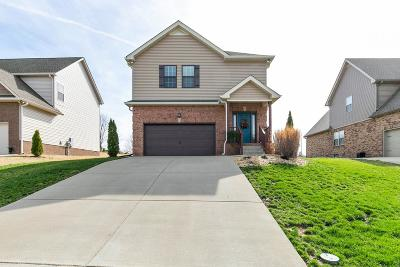 Lebanon Single Family Home For Sale: 721 Asbury Hawn Dr