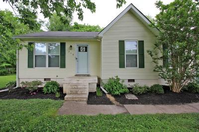 White House Single Family Home For Sale: 216 Donal Ter