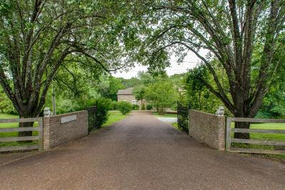 Kingston Springs Single Family Home Active Under Contract: 729 Pinnacle Hill Rd