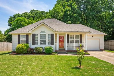 Goodlettsville Single Family Home Active Under Contract: 107 Amelia Ct