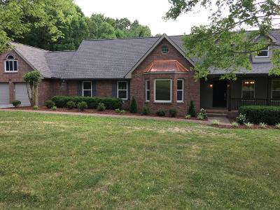 Robertson County Single Family Home For Sale: 3016 New Hall Rd