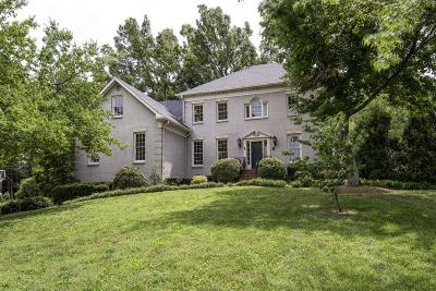 Brentwood Single Family Home Active Under Contract: 5101 Fountainhead Dr