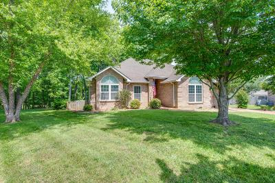 Spring Hill  Single Family Home Active Under Contract: 1418 Gray Fox Ln
