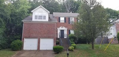 Nashville Single Family Home For Sale: 208 Cates Place