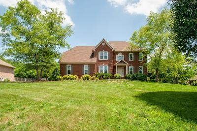 Brentwood Single Family Home Active Under Contract: 9346 Ansley Lane