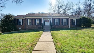 Lewisburg Single Family Home For Sale: 463 Manor Cir