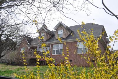 Spring Hill Single Family Home For Sale: 1362 Round Hill Ln