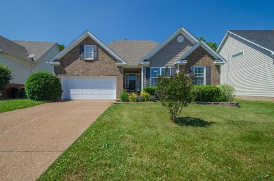 Thompsons Station Single Family Home Active Under Contract: 1157 Summerville Cir