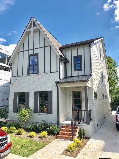 Nashville Single Family Home For Sale: 4005 Woodmont Blvd