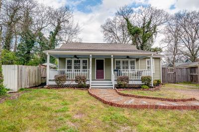 Nashville Single Family Home Active Under Contract: 2514 Ashwood Ave
