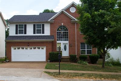 Franklin TN Single Family Home Active Under Contract: $410,000