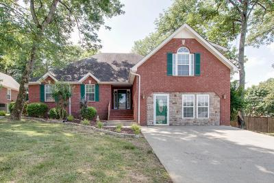 La Vergne Single Family Home For Sale: 604 Woodland Hills Dr