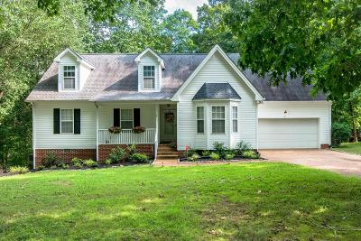 Dickson Single Family Home For Sale: 1020 Anderson Rd