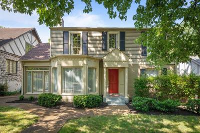 Nashville Single Family Home For Sale: 111 Mockingbird Rd