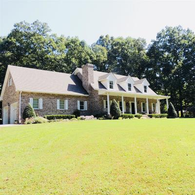 Pleasant View Single Family Home Active Under Contract: 2589 Jack Teasley Rd