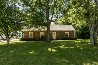 Goodlettsville Single Family Home Active Under Contract: 520 Donald St.