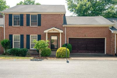 Brentwood Single Family Home Active Under Contract: 1631 Vineland Dr