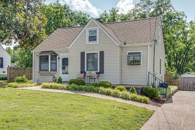 Nashville Single Family Home Active Under Contract: 3003 Dobbs Ave