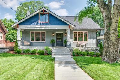 Nashville Single Family Home For Sale: 2510 Belmont Boulevard