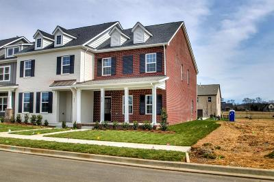 Hendersonville Condo/Townhouse For Sale: 239 Tanglewood Lane - Lot 220