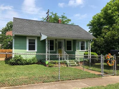 Old Hickory Single Family Home For Sale: 1107 Berry St