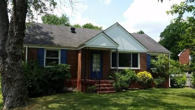 East Nashville Single Family Home Active Under Contract: 3921 Ivy Dr