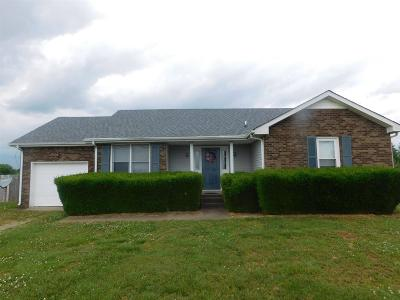 Clarksville Single Family Home Active Under Contract: 1039 Tylertown Rd