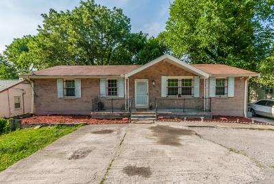 Antioch  Single Family Home For Sale: 52 Tusculum Rd